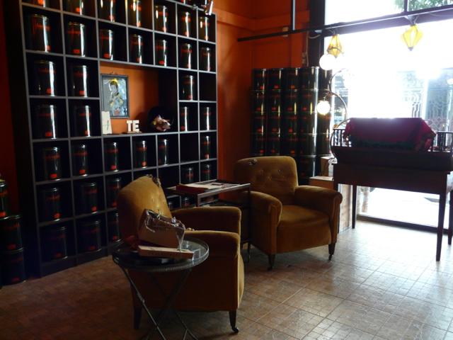 Barcelona Cute Suite Tealosophy Tea shop