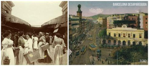 Vintage photographs of Barcelona (c) Barcelona Desapareguda