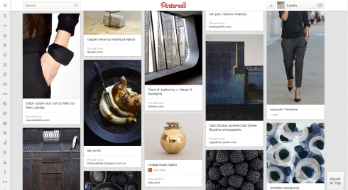 Pinned: metal + ink - Pinterest finds that I love