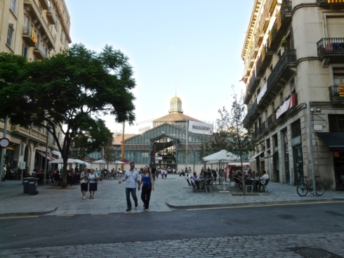 Barcelona's beautiful Mercat del Born finally reopened